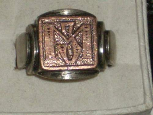 ANY ideas on this ring???