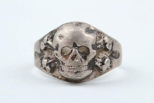 Another Skull Ring for Review