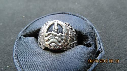 Anti Partisan Ring, real or fake? assuming its real, what is the selling price?