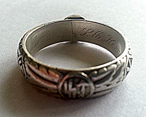 My TR ring -new to site