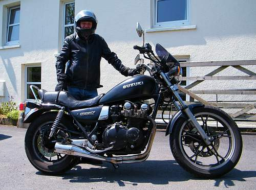 Click image for larger version.  Name:me and my suzuki.jpg Views:225 Size:171.5 KB ID:595370