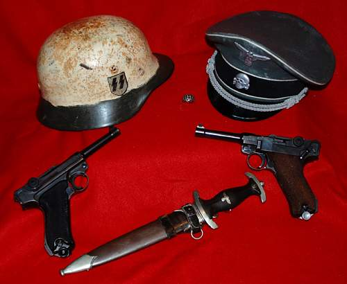 some interesting WWII SS artifacts
