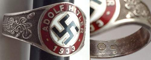 Hitler 1933 ring