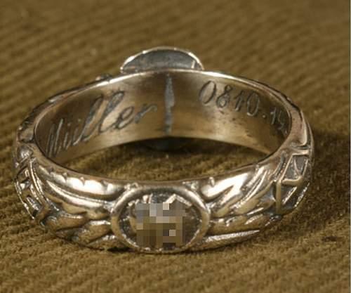 SS Totenkopf Ring ORIGINAL OR FAKE?
