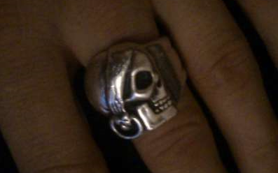 Ring find in Polish Beach  ...From 2 WAW?/