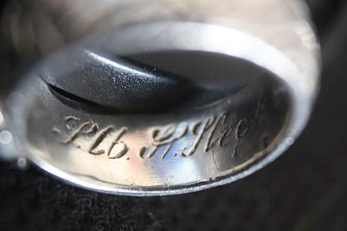 SS Honor Ring at Auction