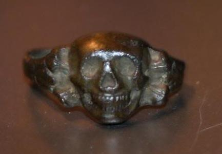 WW2 Skull ring real or fake?