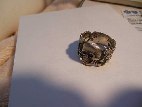 WW2 German Totenkopf Ring?
