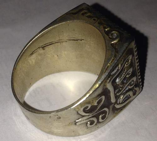 DAK ring - no date or mint marks