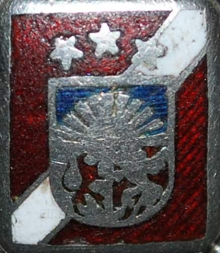 Latvian Legionnaire Ring Project