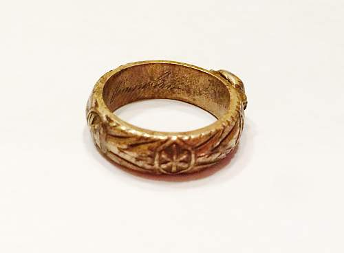 SS Honor Ring Authentic?