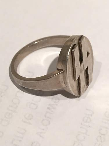 Ring with SS Runes: Real or Fake?