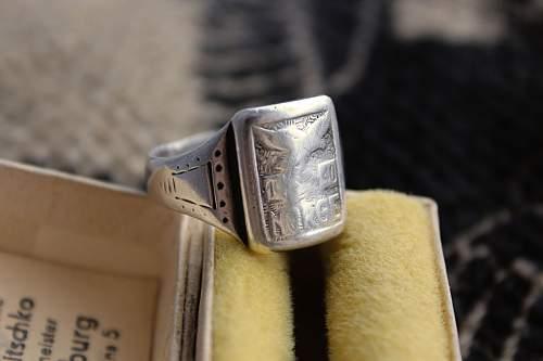 """""""NORGE 1940"""" Luftwaffe Ring - Original/Fake?"""