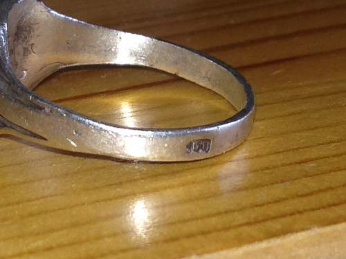 real or fantasy ss ring?