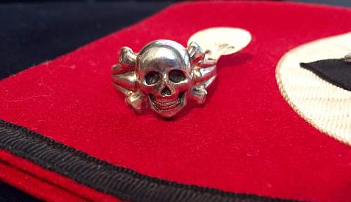 SS/skull ring collection