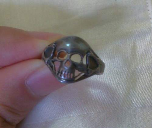What is this world war 2 German ring?