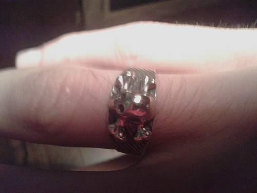 Skull ring (possible ww2)
