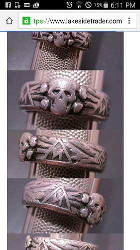 Why were Roman numerals used on some early honor rings?