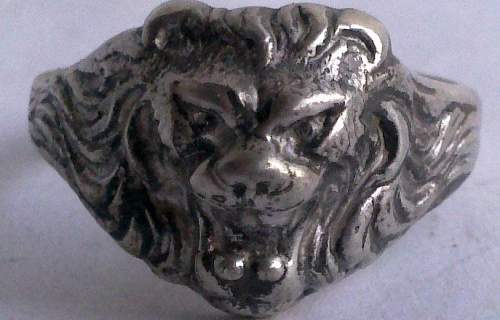 Click image for larger version.  Name:Lion Head Ring Front.jpg Views:38 Size:41.9 KB ID:885043