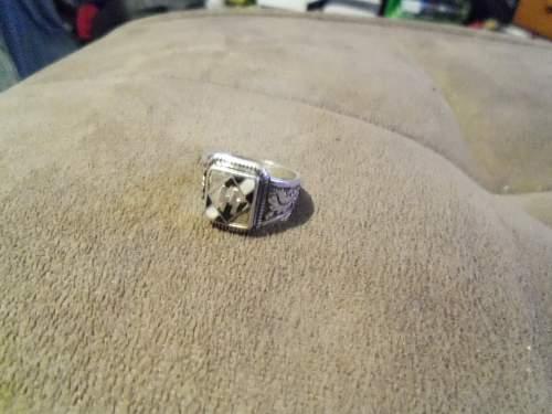 WW2 Lettische Ring