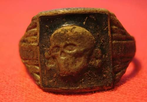 are these original waffen ss rings?