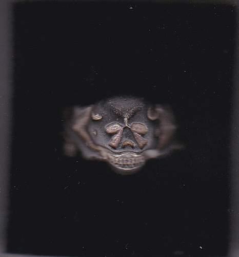 Orginal Ring SS Poland-Relic ?? Maybe Freikorps