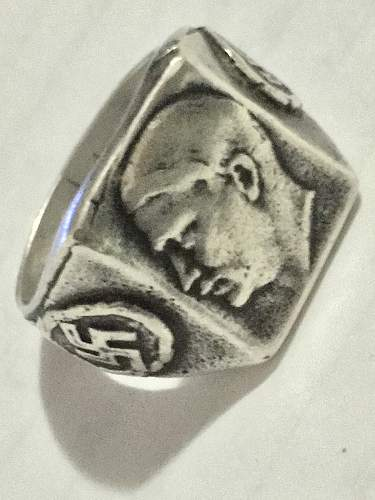 Hitler face ring, can someone help?