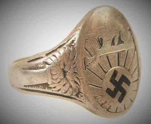 NSDAP 1 Mai 1933 ring