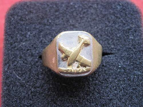 Stuka Ring... could it be a real one?