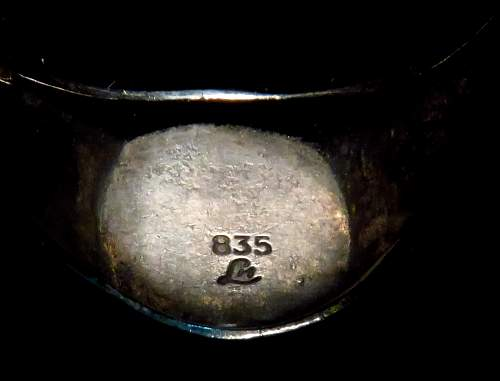 SS TK Ring with Weird Engraving