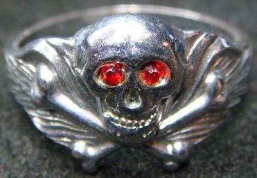 Skull Ring - Unfamiliar Design?