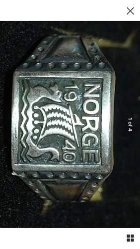 WW2 German Norge Ring - Real or Fake?