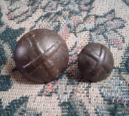 KNIL Artillery Buttons - Dating ?