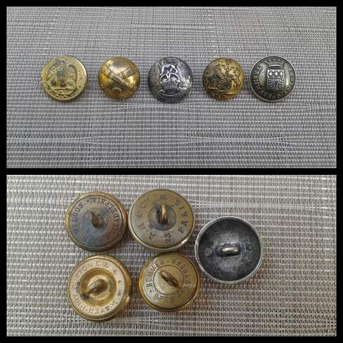 Military Button Lot ?