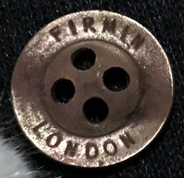 WW1 English Button out Hungary...