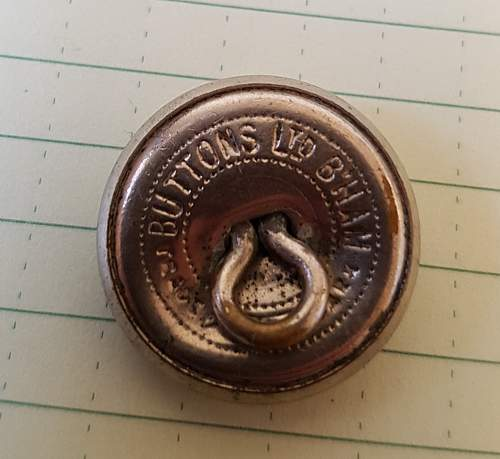 German WWII buttons.  Pips and unknown British button.