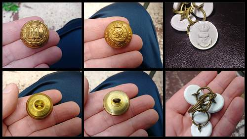 WW1 or WW2 Buttons? ID help Please Thank You