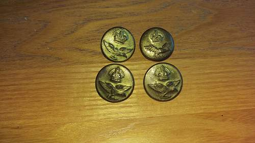 RAF buttons made in India!!!?????