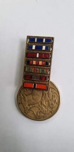 Unsure what this is? Italian ww2 pin?