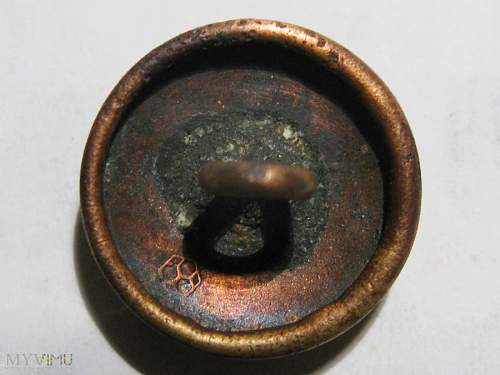 Prussian M1895 button