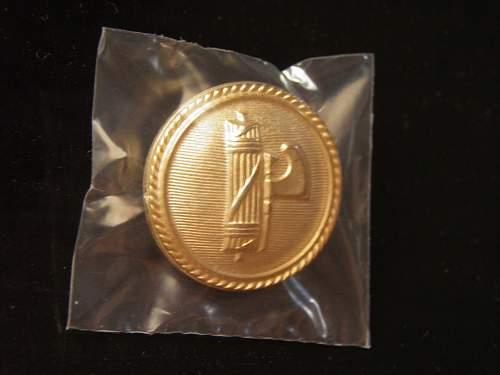 PNF uniform button