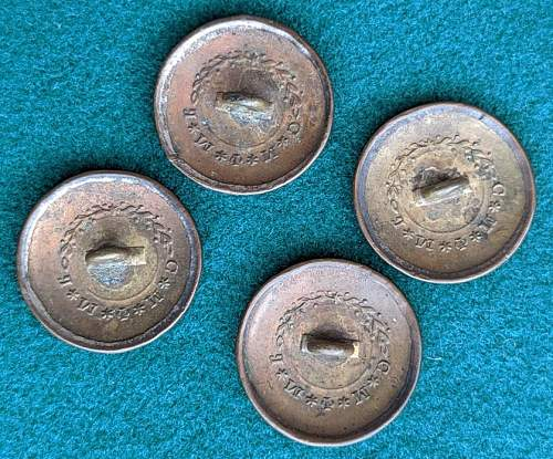 Imperial Russian Buttons