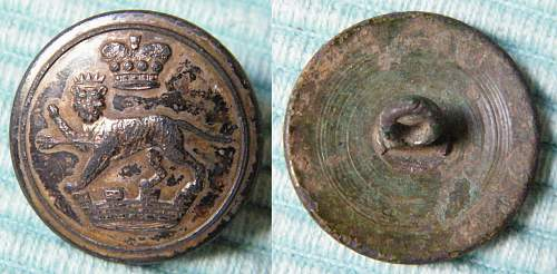 Victorian Livery button, unknown
