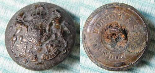 British general service buttons, variations
