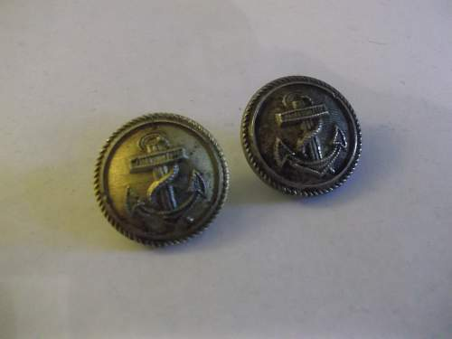 A Small Selection of (Mainly) Naval Buttons