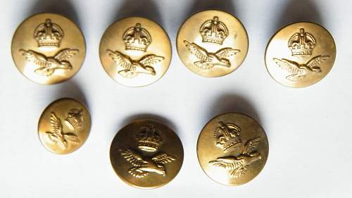 Click image for larger version.  Name:RAF metal buttons.jpg Views:89 Size:206.2 KB ID:655197