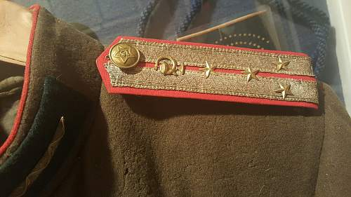 WW2 Russian officer's tunic
