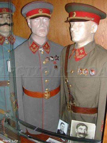 M40 Uniforms Of Marshal Of The Soviet Union