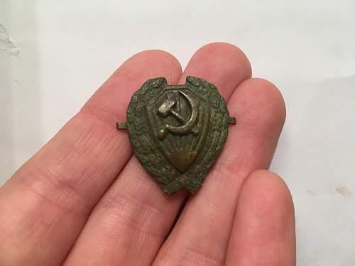 Original RKKA, dubious RKM, fake NKVD
