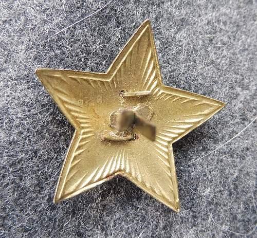 Cap Star Cockardes M36
